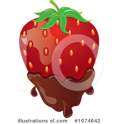 Strawberry Clipart #1074642 by Pams Clipart
