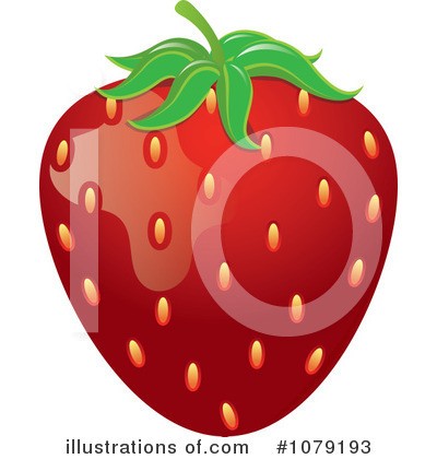 Strawberry Clipart #1079193 by Pams Clipart