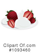 Strawberry Clipart #1093460 by Randomway
