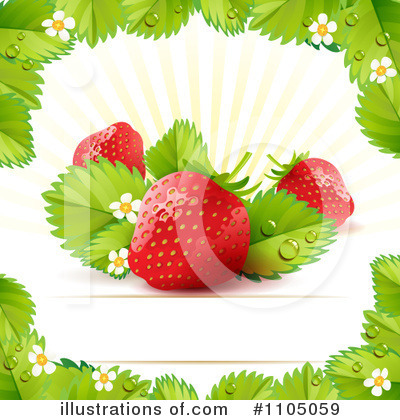 Strawberry Clipart #1105059 by merlinul