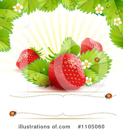 Strawberry Clipart #1105060 by merlinul