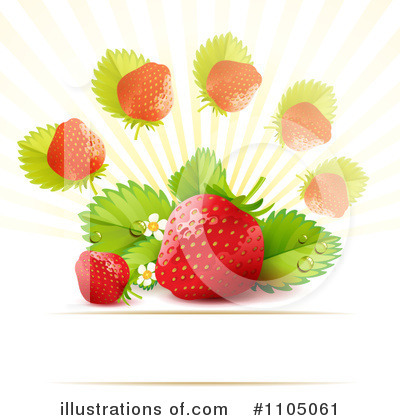 Strawberry Clipart #1105061 by merlinul
