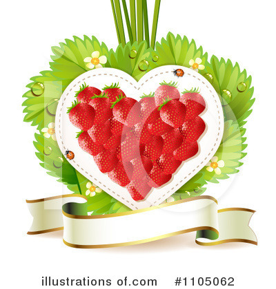 Strawberry Clipart #1105062 by merlinul