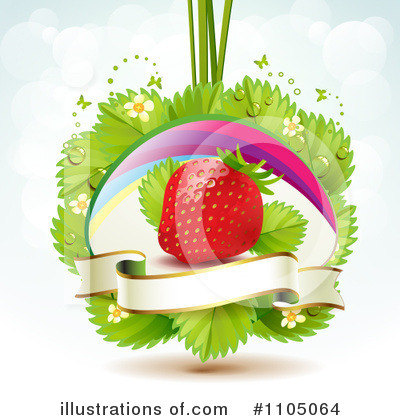 Strawberry Clipart #1105064 by merlinul