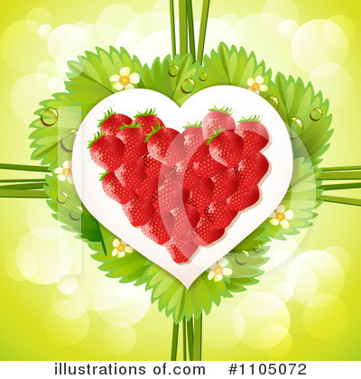 Strawberry Clipart #1105072 by merlinul