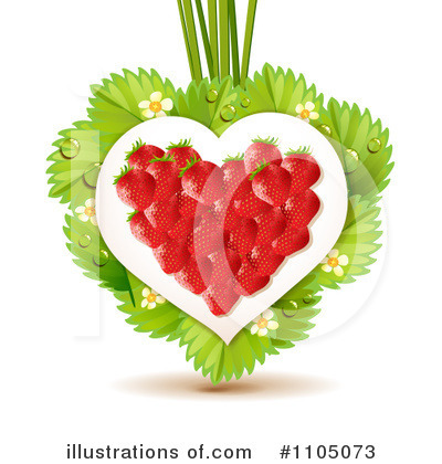 Strawberry Clipart #1105073 by merlinul