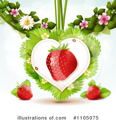 Strawberry Clipart #1105075 by merlinul