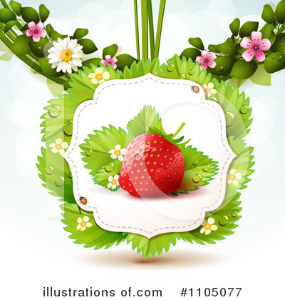 Strawberry Clipart #1105077 by merlinul