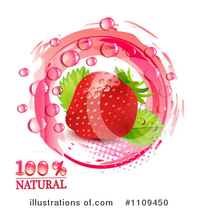 Strawberry Clipart #1109450 by merlinul