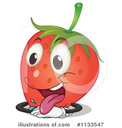 Strawberry Clipart #1133547 by Graphics RF