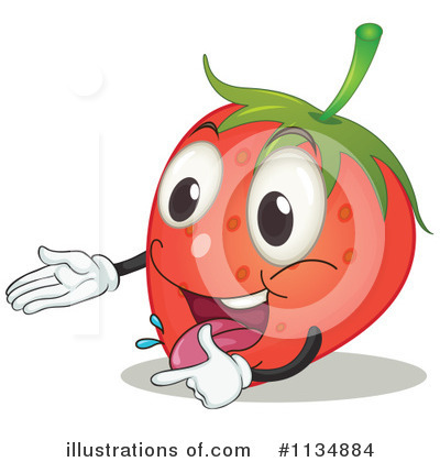 Strawberry Clipart #1134884 by Graphics RF