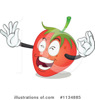 Strawberry Clipart #1134885 by Graphics RF