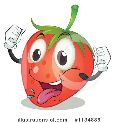 Strawberry Clipart #1134886 by Graphics RF