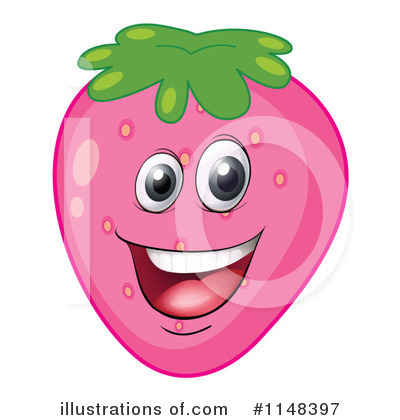 Strawberry Clipart #1148397 by Graphics RF