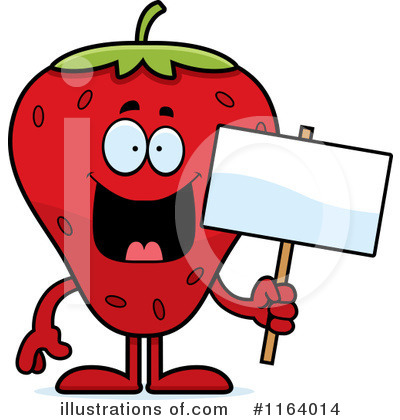 Strawberry Clipart #1164014 by Cory Thoman