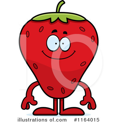 Strawberry Clipart #1164015 by Cory Thoman