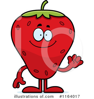 Strawberry Clipart #1164017 by Cory Thoman