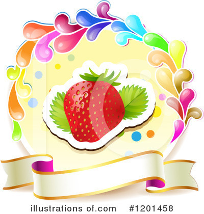 Strawberry Clipart #1201458 by merlinul
