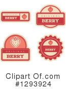 Strawberry Clipart #1293924 by Cory Thoman