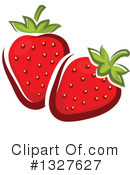Strawberry Clipart #1327627 by Vector Tradition SM