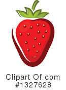 Strawberry Clipart #1327628 by Vector Tradition SM