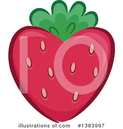 Strawberry Clipart #1383997 by BNP Design Studio