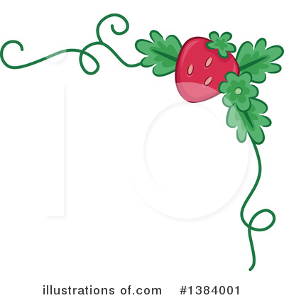 Royalty-Free (RF) Strawberry Clipart Illustration by BNP Design Studio - Stock Sample #1384001