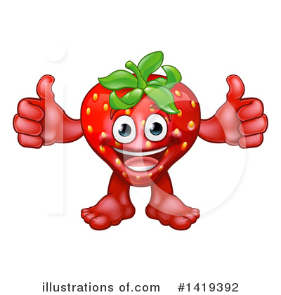 Produce Clipart #1419392 by AtStockIllustration