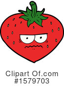 Strawberry Clipart #1579703 by lineartestpilot