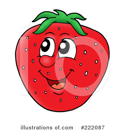 Strawberry Clipart #222087 by visekart