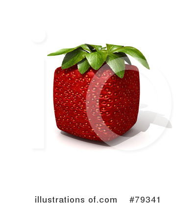 Strawberry Clipart #79341 by Frank Boston