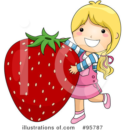 Strawberry Clipart #95787 by BNP Design Studio