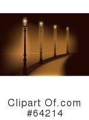 Stree Lamps Clipart #64214 by Eugene