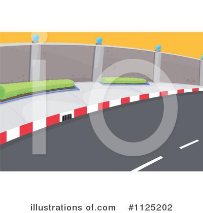 Street Clipart #1125202 - Illustration by colematt