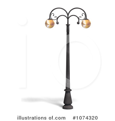 Royalty Free RF Street Light Clipart Illustration By Ralf61 Stock