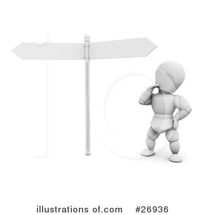 Cross Roads Clipart #26936 by KJ Pargeter