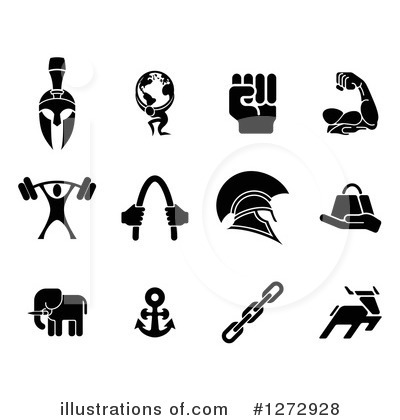 Royalty-Free (RF) Strength Clipart Illustration by AtStockIllustration - Stock Sample #1272928