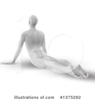 Yoga Clipart #1375262 by KJ Pargeter