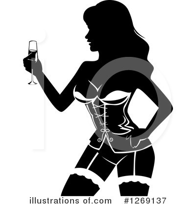 Stripper Clipart #1269137 by BNP Design Studio