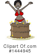 Royalty-Free (RF) Stripper Clipart Illustration #1444945