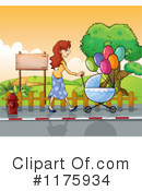 Stroll Clipart #1175934 by Graphics RF