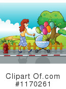 Stroller Clipart #1170261 by Graphics RF