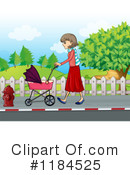 Stroller Clipart #1184525 by Graphics RF