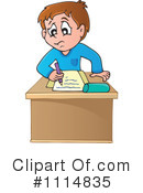Royalty-Free (RF) Student Clipart Illustration #1114835