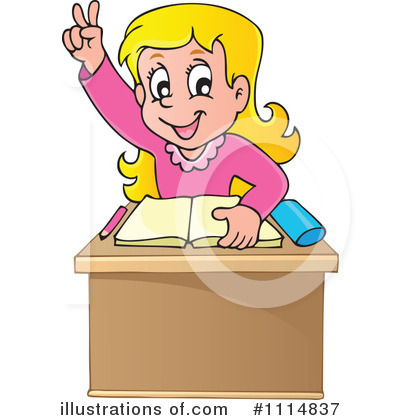 School Children Clipart #1114837 by visekart
