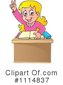 Royalty-Free (RF) Student Clipart Illustration #1114837