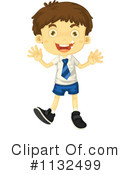 Royalty-Free (RF) Student Clipart Illustration #1132499