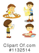Royalty-Free (RF) Student Clipart Illustration #1132514