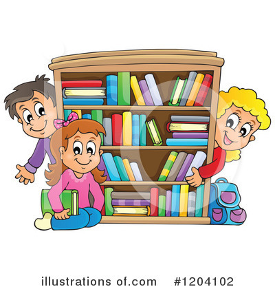 Book Clipart #1204102 by visekart