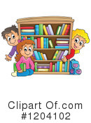 Royalty-Free (RF) Student Clipart Illustration #1204102